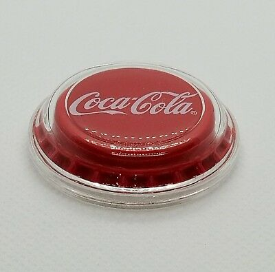2018 Fiji Coca-Cola Bottle Cap-Shaped 6g Silver Proof $1 Coin