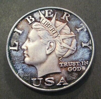 2003 NORFED $10 Liberty Silver Round - 1 Troy oz .999 Fine Silver - (P359)