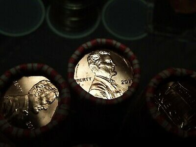 2017-P Original Bank Wrapped Bu Lincoln Penny Cent Roll