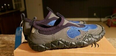 1adbf781c57f TEVA watershoe Spider Rubber soles NWT rtl  79 lghtwght fast dry Youth sz 10