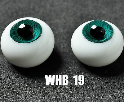 16MM Blue Green with Line Glass BJD Eyes for MSD DOD DZ AOD Volks Dollfie Outfi