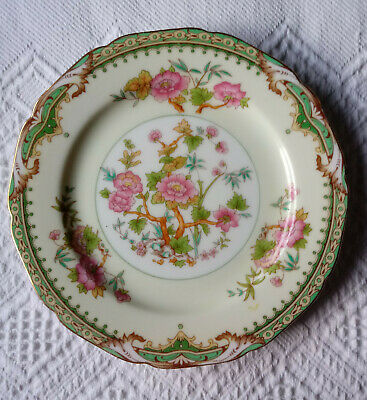 Antique Fine China Noritake Tremont Bread Plate Lot of 8 Floral Band Set