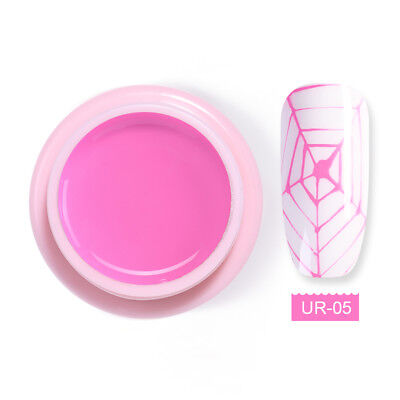 UR SUGAR 5ml Spider Soak Off UV Gel Polish Elastic Drawing Nail Gel Varnish #5