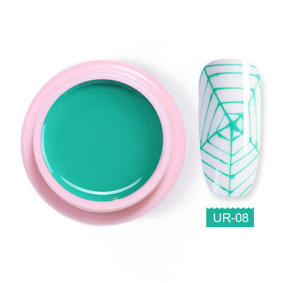 UR SUGAR 5ml Spider Soak Off UV Gel Polish Elastic Drawing Nail Gel Varnish #8