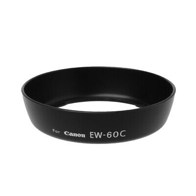 Camera Accessory Lens Hood EW-60C For Canon EF-S 18-55mm F / 3.5-5.6 IS II 58mm