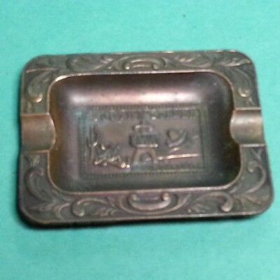 South Carolina South of the Boarder Ashtray Metal Vintage Small Collectible