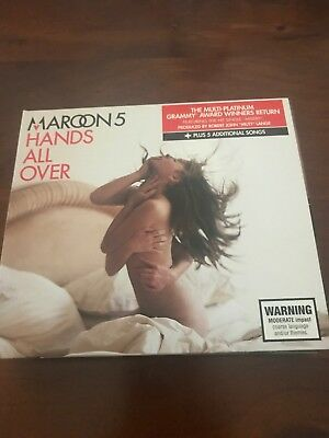 Maroon 5 Hands All Over CD Great Condition