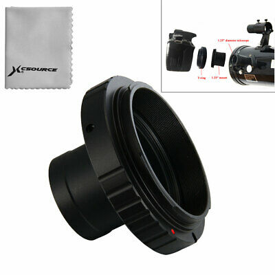 "1.25"" Telescope Mount + T T2 Lens Adapter for Canon DSLR Camera 600D 700D DC615"