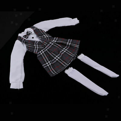 Skirt Stocking Japanese School Uniform Suits for Dollfie 1/3 BJD Dolls Novelty