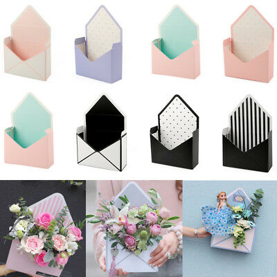 8 Style Romantic Envelope Flower Paper Holder Box Bouquet Florist Pack Supply AU