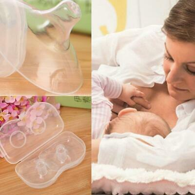 2 PCS Mother Feed Silicone Nipple Protectors Feeding Nipple Protection Cover