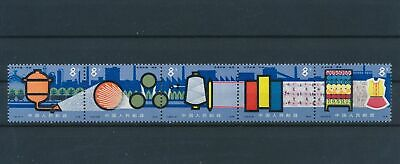 LJ78647 China 1978 chemical industry strips MNH