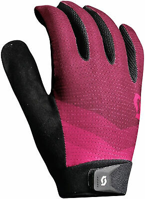 Cycling Clothing Scott Essential Full Finger Womens Cycling Gloves Black