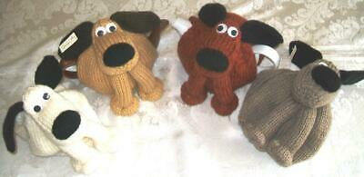 Novelty Hand Knitted Doggy Tea Cosy