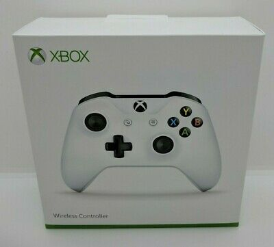 Microsoft Official Xbox One S Wireless Controller White Brand New Sealed