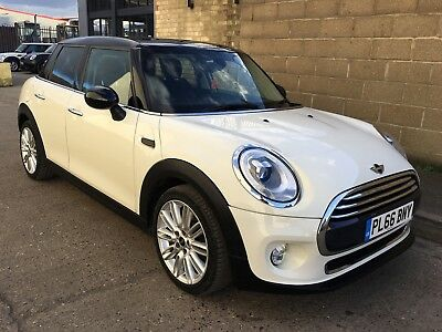 2016 (66) Mini 5DR Hatch 1.5 Cooper D Manual Diesel 10k Miles, White | Salvage