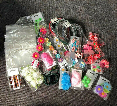 Mixed Lot / Wholesale / Hair Accessories Hair Bobbles Grips Headbands