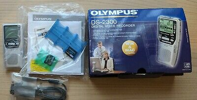 Olympus DS-2300 DS 2300 Digital Dictation Voice Recorder 256MB xD-Picture Card