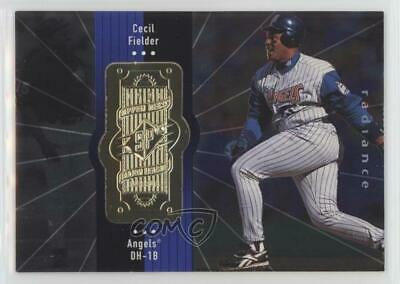 1998 SPx Finite Radiance #241 Cecil Fielder Los Angeles Angels Baseball Card