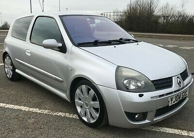 2004 Renault Clio 182 - Silver - Hpi Clear