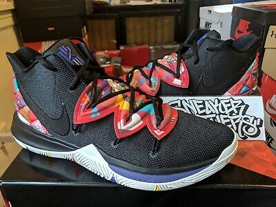 971681991425a3 Nike Kyrie 5 CNY Chinese New Year Pig Black Summit White Basketball  AO2918-010