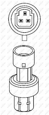 febi bilstein 36784 Pressure Switch for air conditioning pack of one