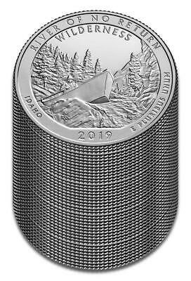 "2019 ""S"" ATB Frank Church Wilderness, Clad Quarter, Proof, Roll/Lot of 40"