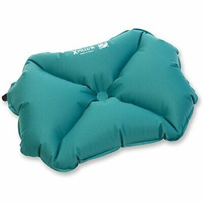 Klymit Pillow X LARGE Inflatable Camping & Travel Pillow, Teal - LARGE