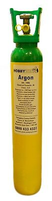 Pure Argon Tig Welding Gas 9L 137 bar Deposit required See descrip collect only