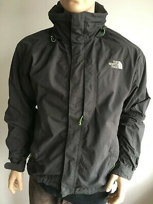 2bb865a761 The North Face Men S Small 38-40 Black Hooded Raincoat Jacket Coat Anorak