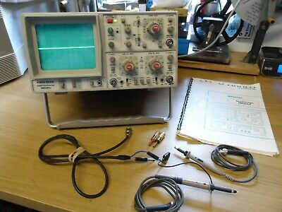 HAMEG 20 Mhz Oscilloscope HM203-6 with Probes & Manual