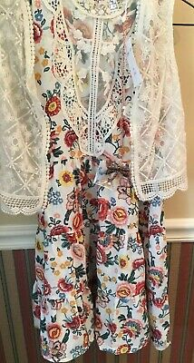BNWT Girls Dress 2 Piece Sz 14 Brand Is Knit Works From JcPenny. Spring/Summer