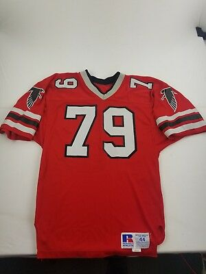Bill Fralic Atlanta Falcons Game Issued Used Jersey Russell Athletic Pro  Cut  79 fca779370