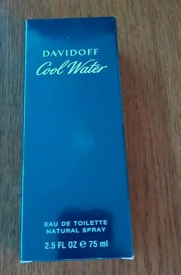 Davidoff Cool Water for Men Eau De Toilette EDT 75 ml (man)