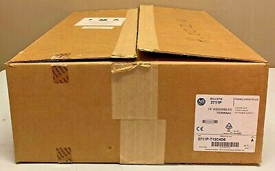 New Allen Bradley 2711P-T15C4D8 /A 2711 PanelView Plus 6 Terminal 15-in Touch DC