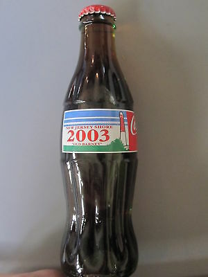 COCA COLA COKE 2003 NEW JERSEY SHORE OLD BARNEY  8oz BOTTLE