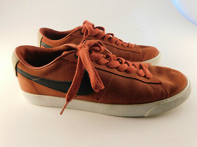 740396ca6ed1 Nike SB Blazer Low GT QS Grant Taylor Red Suede Skate Shoes 716890-602 Sz