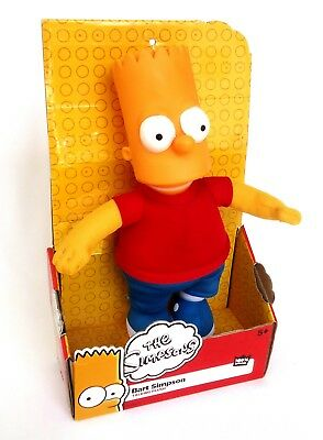 The Simpsons-Bart Simpson 30cm Talking Plush soft toy figure 2015 Discontinued