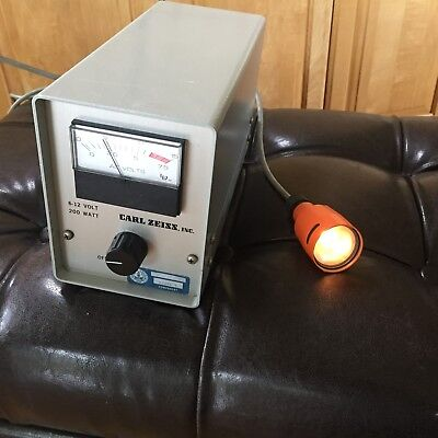 Carl Zeiss Microscope Power Supply Model 910103 Comes With Lamp