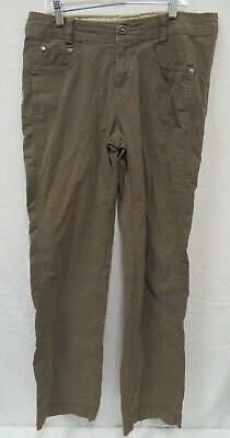 Kuhl Women's Size 10 Regular Taupe Beige Hiking Outdoor Trail Camping Pants