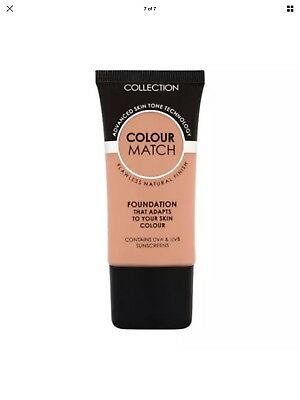 Collection Colour Match Ivory Foundation With UVA & UVB Protection New