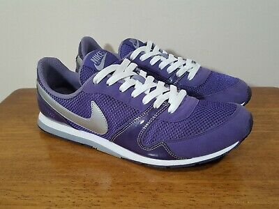 6131f881a820 Women s Nike Eclipse II Purple Leather   Manmade Mesh Sneakers Shoes ...