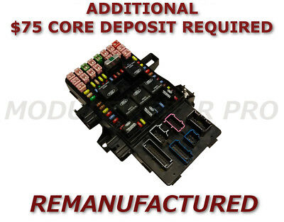reman 03 04 05 06 ford expedition lincoln navigator fuse box 3l7t-14a067-aa