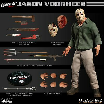 Jason Voorhees Mezco Toyz One:12 Collective Friday The 13th Part 3 Action Figure