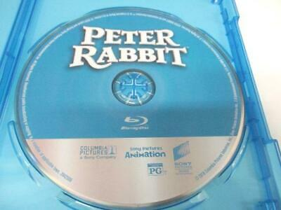 Peter Rabbit (Blu-ray Disc, 2018) 1 Disc Never Viewed NO CASE Quick Ship!