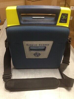 Cardiac Science Powerheart G3 AED Automatic w/ Battery, Pads & Case 9300E-101