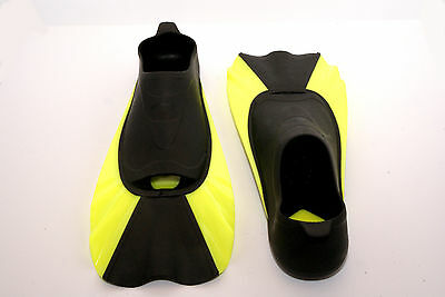 Short Blade Swimming Diving Flippers Fins