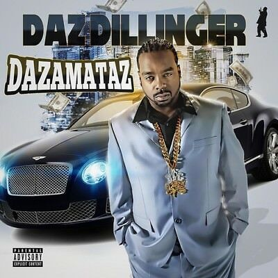 Daz Dillinger Dazamataz 2018 Official CD Mixtape Album