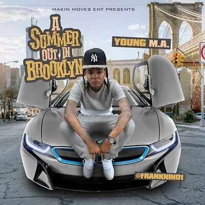 Young M.A A Summer Out in Brooklyn Rap Hip Hop (Mix CD) Mixtape 2016 OoooUuuu