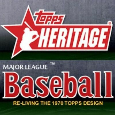 2019 Topps Heritage News Flashbacks Insert Singles U Pick Complete Your Set